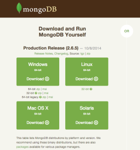 mongodb-download