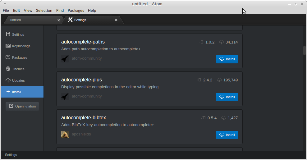 Atom-plugin-autocomplete-plus