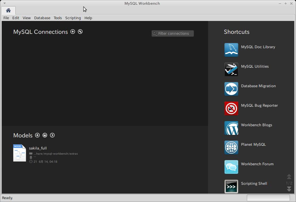 Screenshot-MySQL Workbench