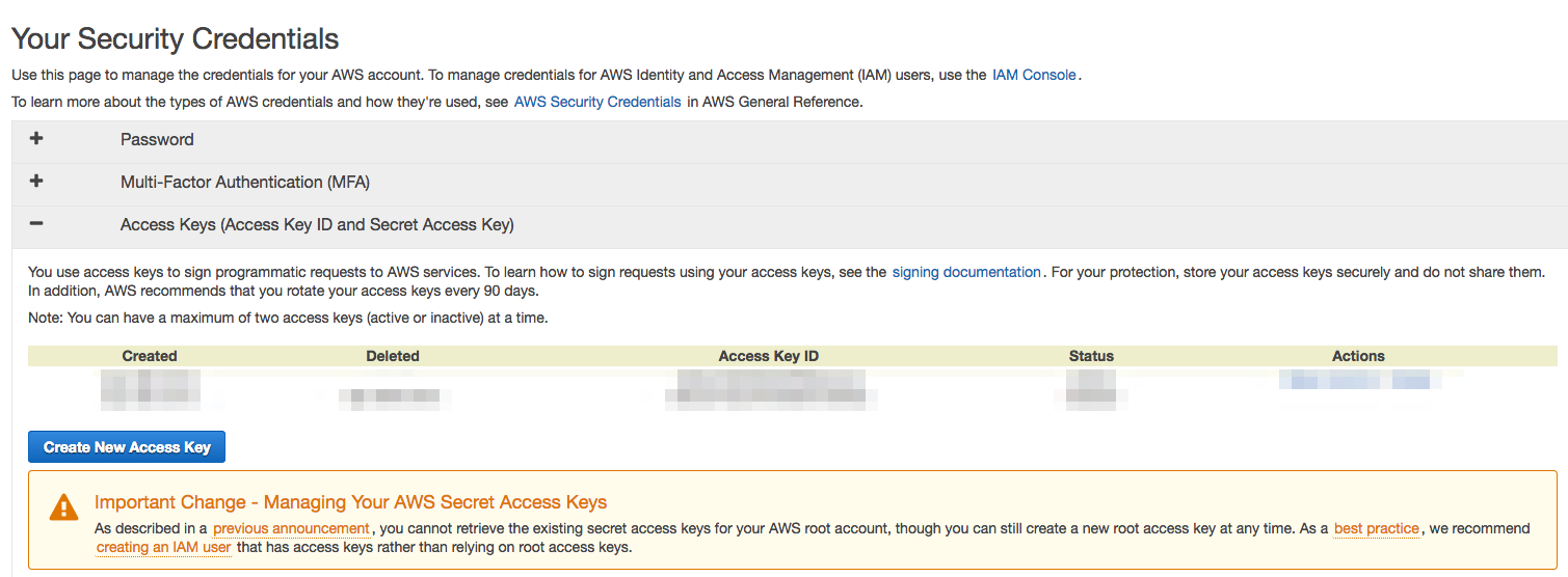 aws-credentials