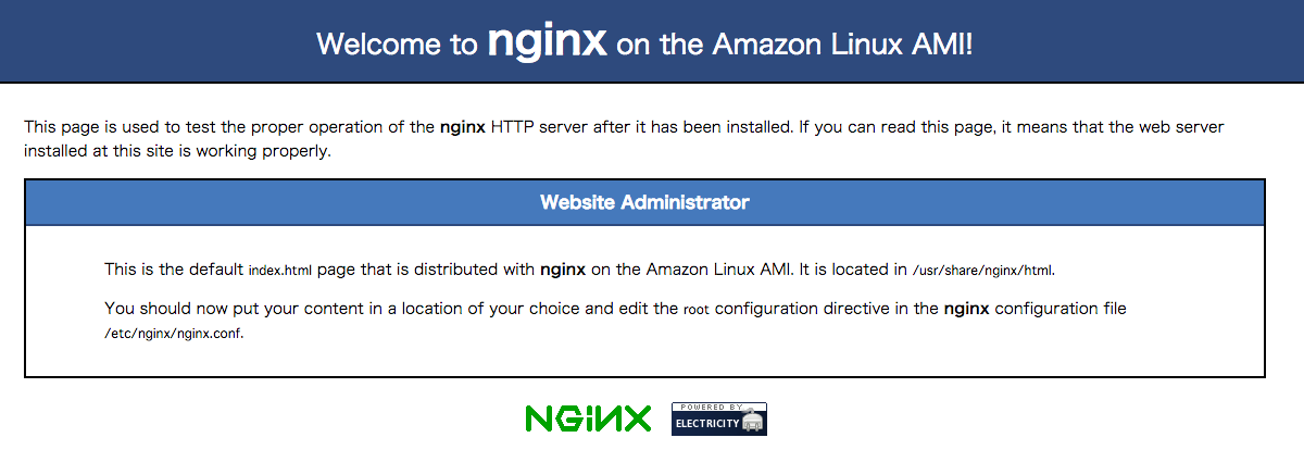 Nginx-Test-Page